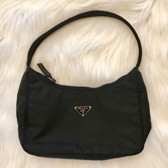 6ace24a40318 Prada Bags | Excellent Condition Nylon Black Small Bag | Poshmark